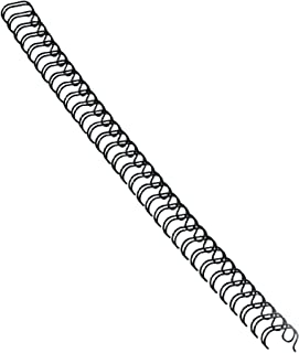 Fellowes Wire Binding Spines, 1/2 Inch Diameter, Black, 100 Sheets, 25 Pack (5255401)