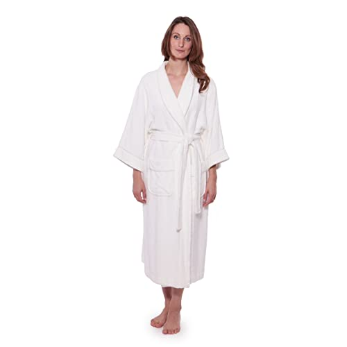 a7f266dc8a Women s Luxury Terry Cloth Bathrobe - Bamboo Viscose Robe by Texere  (Ecovaganza)