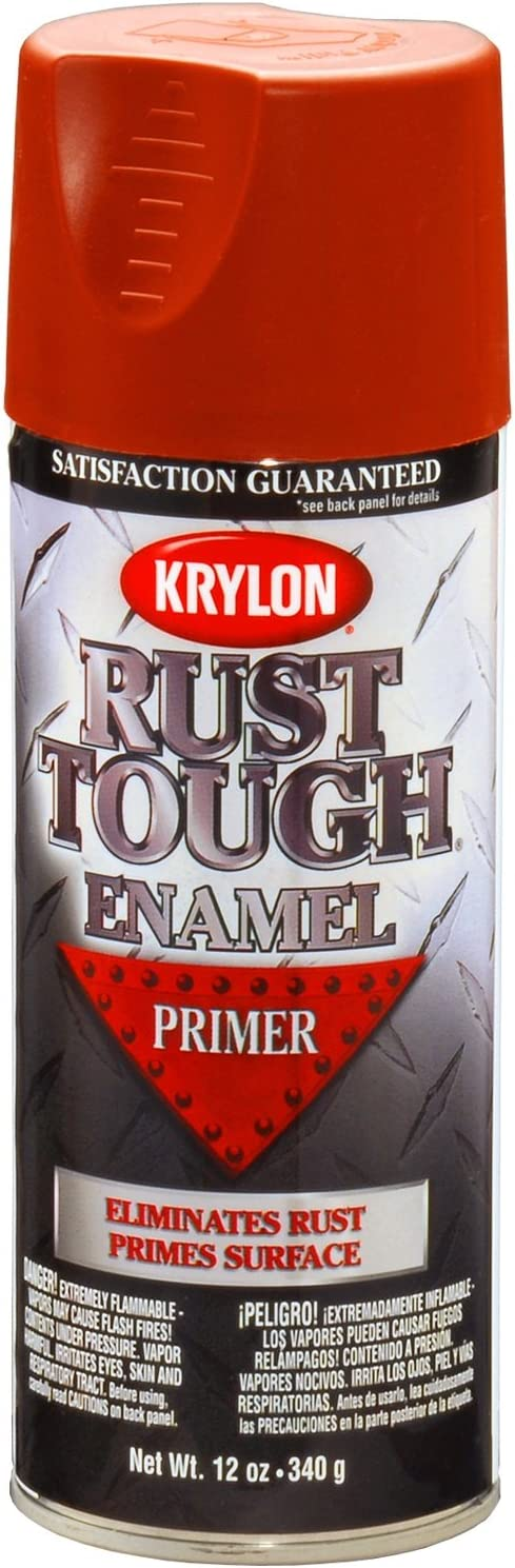 Krylon K09204007 'Rust Tough' Ruddy Brown - 12 Ranking TOP4 Primer Aeroso oz. Popular product