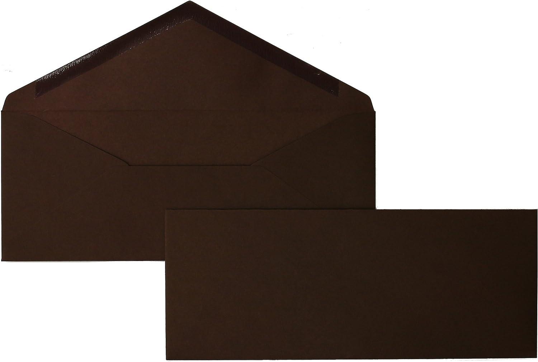 Blanke Briefhüllen - 100 Briefhüllen im Format 95 x x x 235 mm in Dunkelbraun B00FPOABG4   Großer Räumungsverkauf  faefd4