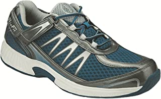 Orthofeet Plantar Fasciitis Pain Relief Orthopedic Diabetic Sneakers Extra Wide Athletic Mens Walking Shoes Sprint