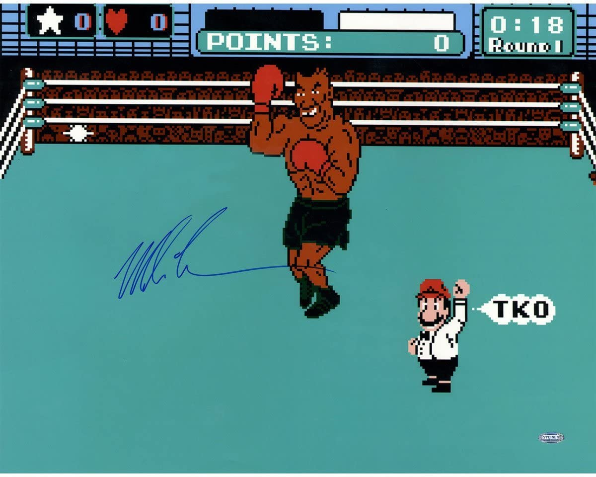 UFC Mike Tyson Signed Punch 20