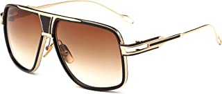 Gobiger Aviator Sunglasses for Men 100%UV Protection Goggle Alloy Frame with Case