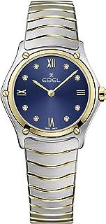 EBEL Ladies 1216446A Sport Classic 18K Gold & Steel Swiss Quartz Watch