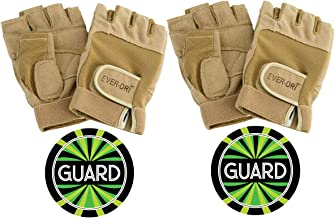 Ever-DRI Color Guard Gloves and Guard Decal Bundle - Two Pack (tan or Black)