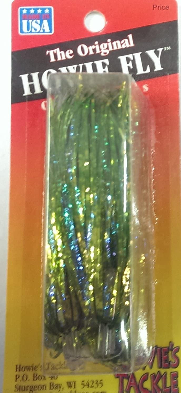 Glitter Chartreuse Howie's Tackle Low price Howie of Ranking TOP13 Fishing Lure Pack Fly