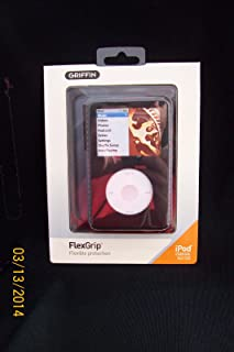Griffin FlexGrip Silicone Case 2-Pack for 160 GB iPod classic 6G (Black/Red and Clear/Black)
