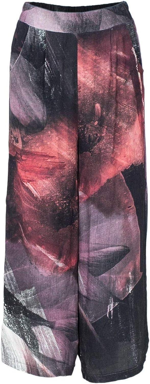 Desigual Women's 18WWPW02MULTI Multicolor Viscose Pants