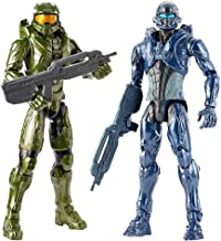 """Halo Master Chief and Spartan Locke 12"""" Action Figure, 2-Pack Collection"""