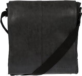 LLUPP Men's Shoulder Bag Black Black 28x33x8 cm