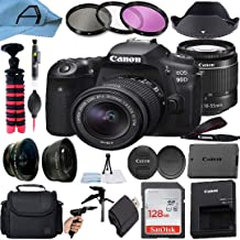 $1329 » Canon EOS 90D DSLR Camera 32.5MP Sensor with 18-55mm Zoom Lens, SanDisk 128GB Memory Card, Bag, Tripod and A-Cell Accessor...
