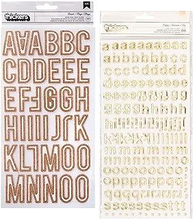 Best gold glitter alphabet stickers Reviews