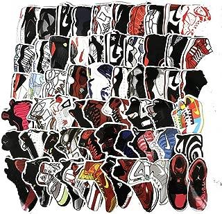 Meet Holiday Jordan AJ Sneakers Theme Stickers Waterproof Vinyl Scrapbook Stickers Car Motorcycle Bicycle Luggage Decal 60 PCS Laptop Stickers