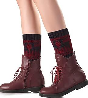 Women's Leg Warmer Short Boots Socks Crochet Knit Boot Cuffs Cover