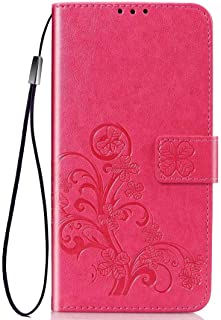 Wuzixi Case for Infinix Hot 9/Note 7 lite. Anti-Scratch, Flip Case Side suction Kickstand Feature Card Slots Case, PU Leat...