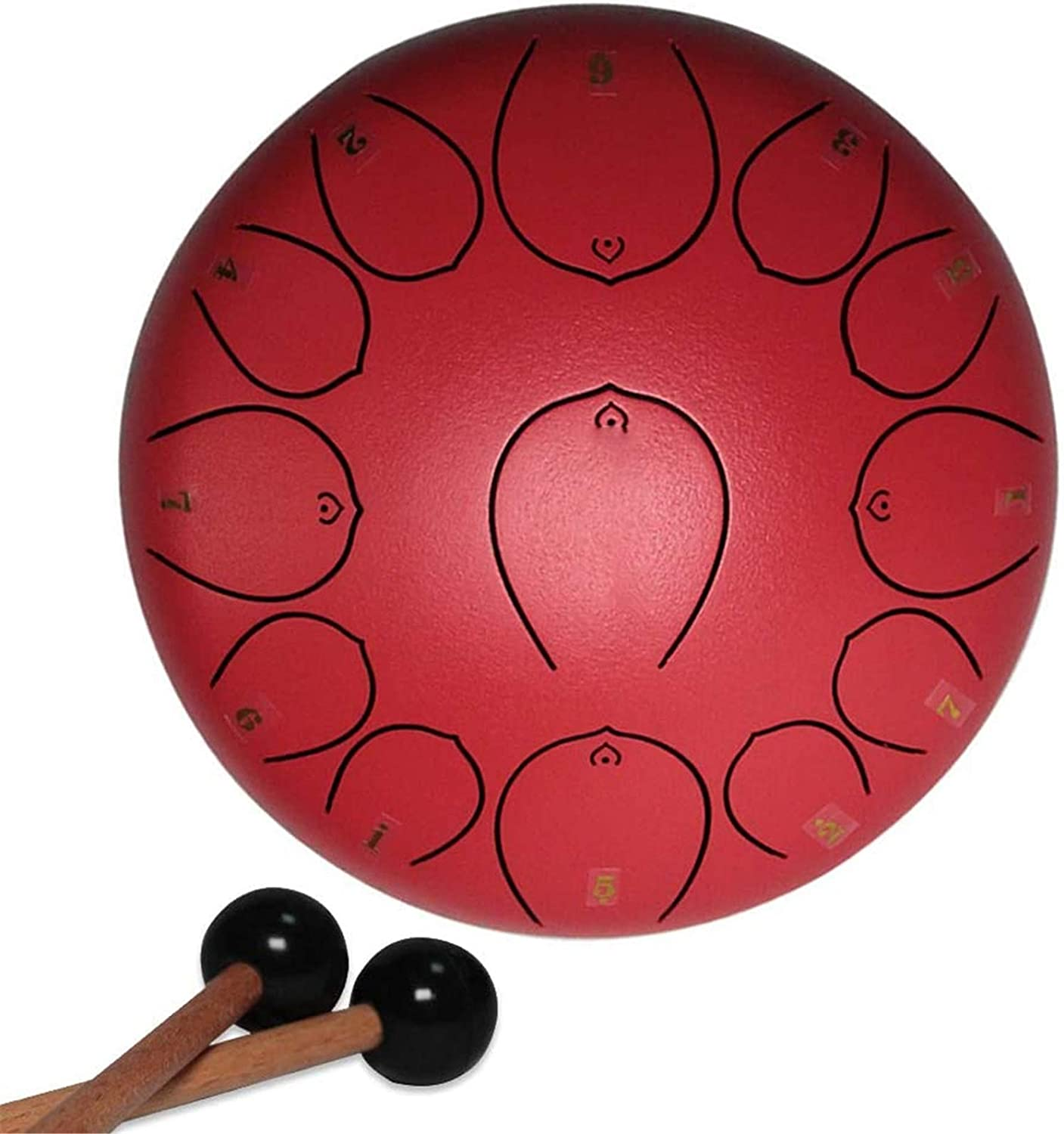 Steel Tongue Drum Handpan 12 Fees free 13 Luxury goods Inche Notes