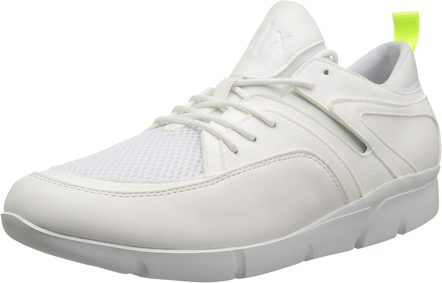 A X Armani Exchange Men's Lowtop Athletic Sneaker with Mesh Detail