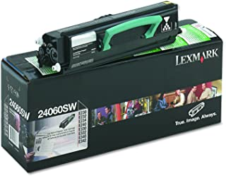 Lexmark 24060SW Toner, 2500 Page-Yield, Black