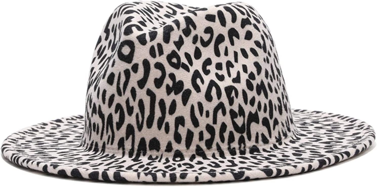 N\C overseas 1PCS Leopard Print Trilby Fedora and 35% OFF Hat Men with Women for