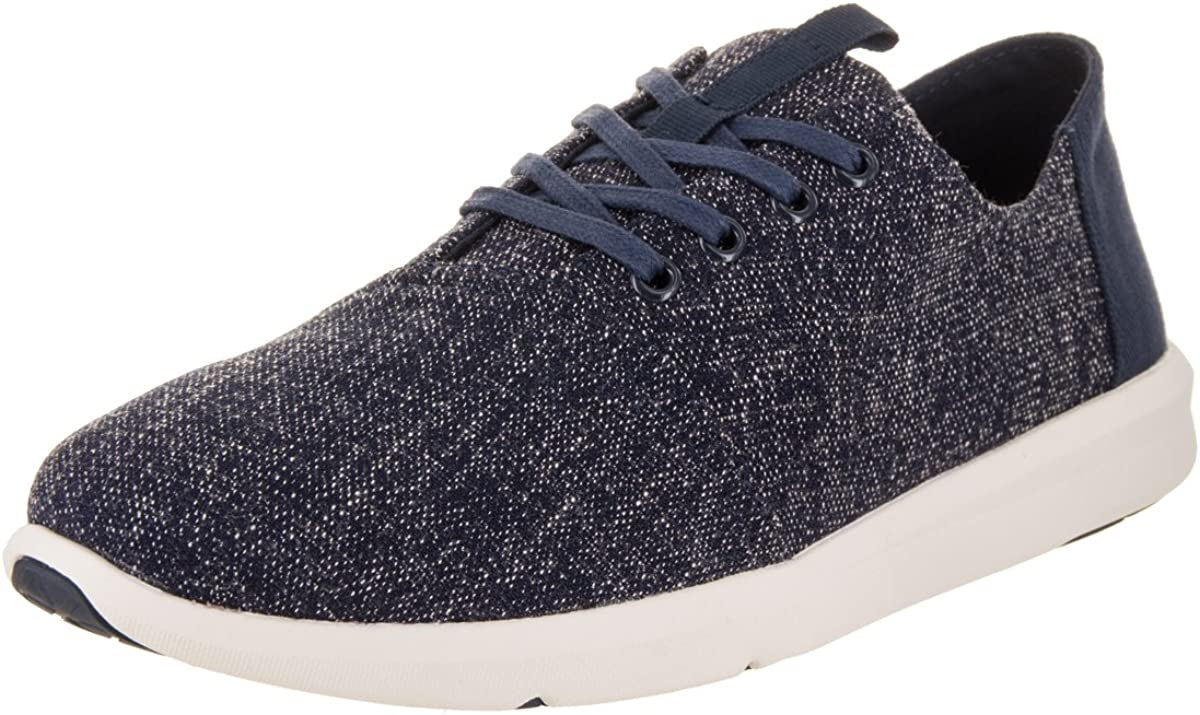 TOMS mens Del Rey oxfords shoes, Navy Two-tone, 11 US