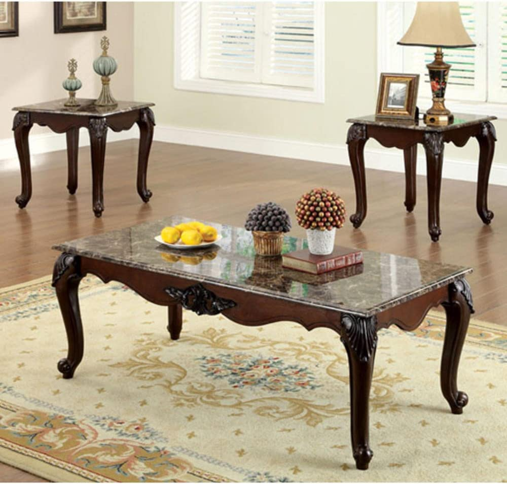 247SHOPATHOME Max 74% OFF Brand new living-room-table-sets Cherry