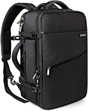 Inateck 40L Travel Backpack, Flight Approved Carry on Backpack Hand Luggage, Anti-Theft Business Laptop Rucksack Large Daypack Weekender Bag for 17'' Laptop - Black