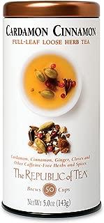 Republic of Tea Cardamon Cinnamon Herbal Full Leaf, 5 oz
