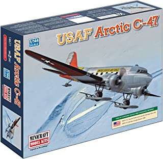 Minicraft Arctic R4D USAF with 2 Marking Options, 1/144 Scale