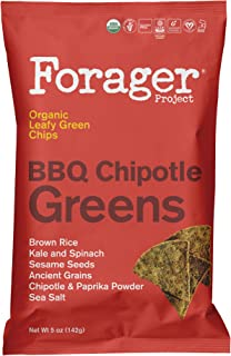 Forager Project, Organic BBQ Chipotle Vegetable Chips, 5 Ounce