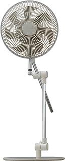 カモメファン 扇風機 スタンドファン 首振り リモコン付き ホワイト FKLT-232D WH...