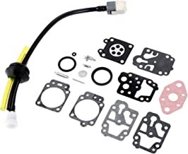 Hicello Carburetor Repair Kit for Troy-Bilt B26TB TB475SS TB575SS TB525CS TB146EC
