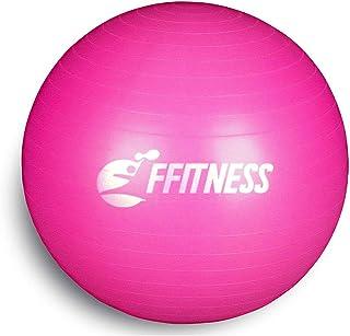 comprar comparacion Balón de equilibrio total (55 65 75 85 95 cm). Pelota suiza grande para yoga, pilates, gimnasio en casa, fitness, embarazo...
