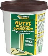 Everbuild BUTGCB2KG Butyl Glazing Compound 102 2Kg - Brown