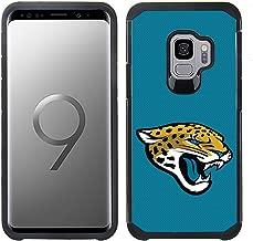 Prime Brands Group Textured Team Color Cell Phone Case for Samsung Galaxy S9 - NFL Licensed Jacksonville Jaguars