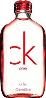 Calvin Klein One Red Edition For Her - perfumes for women - Eau De Toilette, 100ml