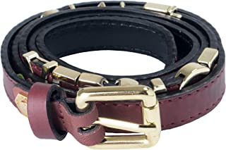 Versace Collection 100% Leather Brown Women's Belt US 85 IT 100
