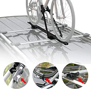 PALFA Bike Bicycle rack for Car Suction Cups Truck QR Rooftop Carrier Roof Rack