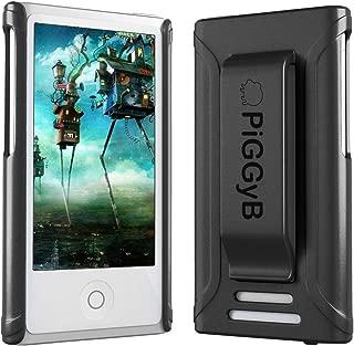 PiGGyB Clip IT! Case Cover Belt Clip for iPod Nano 8th Gen 8 8G (Black)