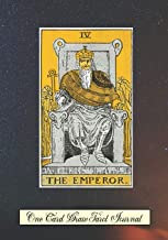 The Emperor One Card Draw Tarot Journal: Tracker Blank Notebook and Personal Tarot Card Workbook, Learning Tarot, Tarot Beginners Gift and Helping with Card Intuition