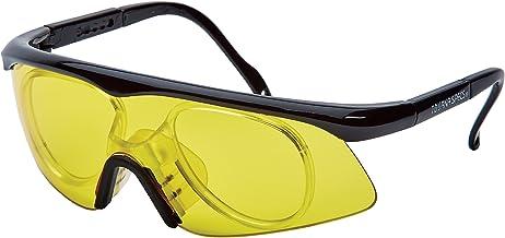 نظارات واقية فريدة من نوعها سبورتس Tourna Specs لون أصفر مع محول وصفة طبية