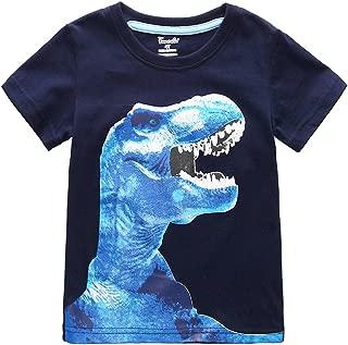Frogwill Boys Dinosaur Short Sleeve T-Shirt Top Tee Size 2-10