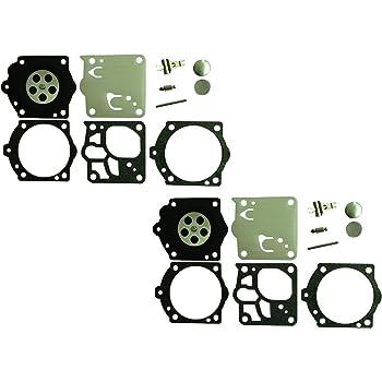 Confezione da 2 C/·T/·S Kit Riparazione//Ricostruzione carburatore sostituisce Walbro K10-RWJ