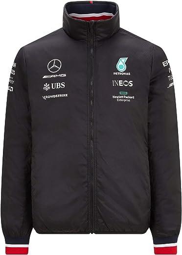 جاكيت رجالي مبطن خفيف الوزن من Mercedes Benz AMG Petronas F1 طراز 2021