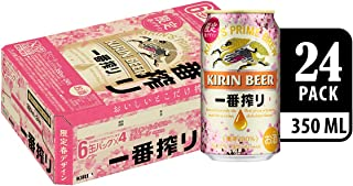 Kirin Ichiban Spring Limited Edition Lager Beer Can 350ml (Pack of 24)