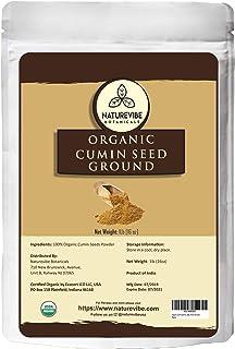 Sponsored Ad - Organic Cumin Seed Powder by Naturevibe botanicals, 1 lb (Cuminum cyminum L.)