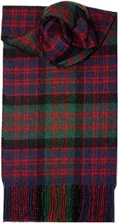 MacDonald Clan Tartan Scarf Modern Lambswool