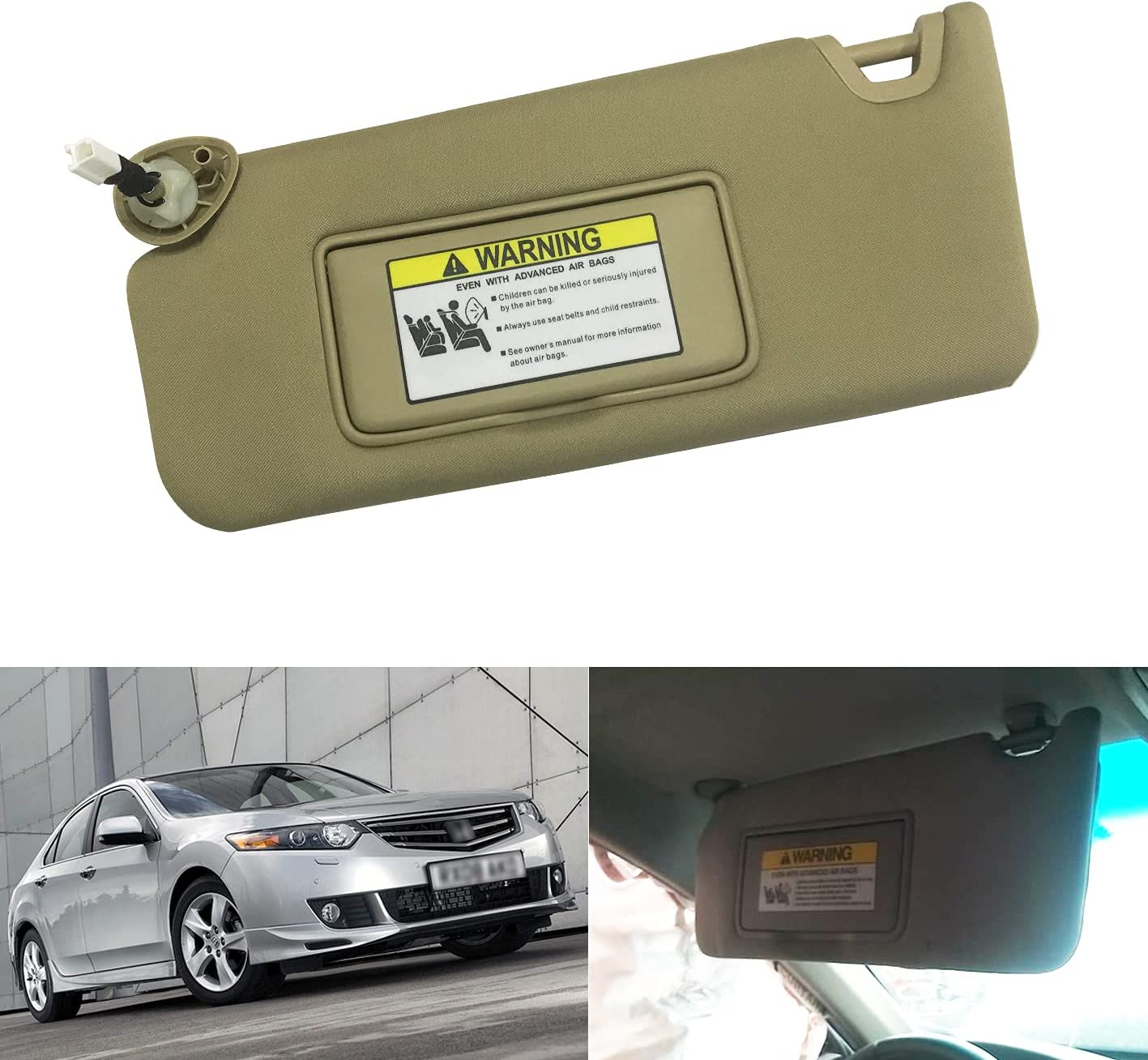 Compatible with Honda Accord 2008 2009 2010 2011 with Light 83280 ...