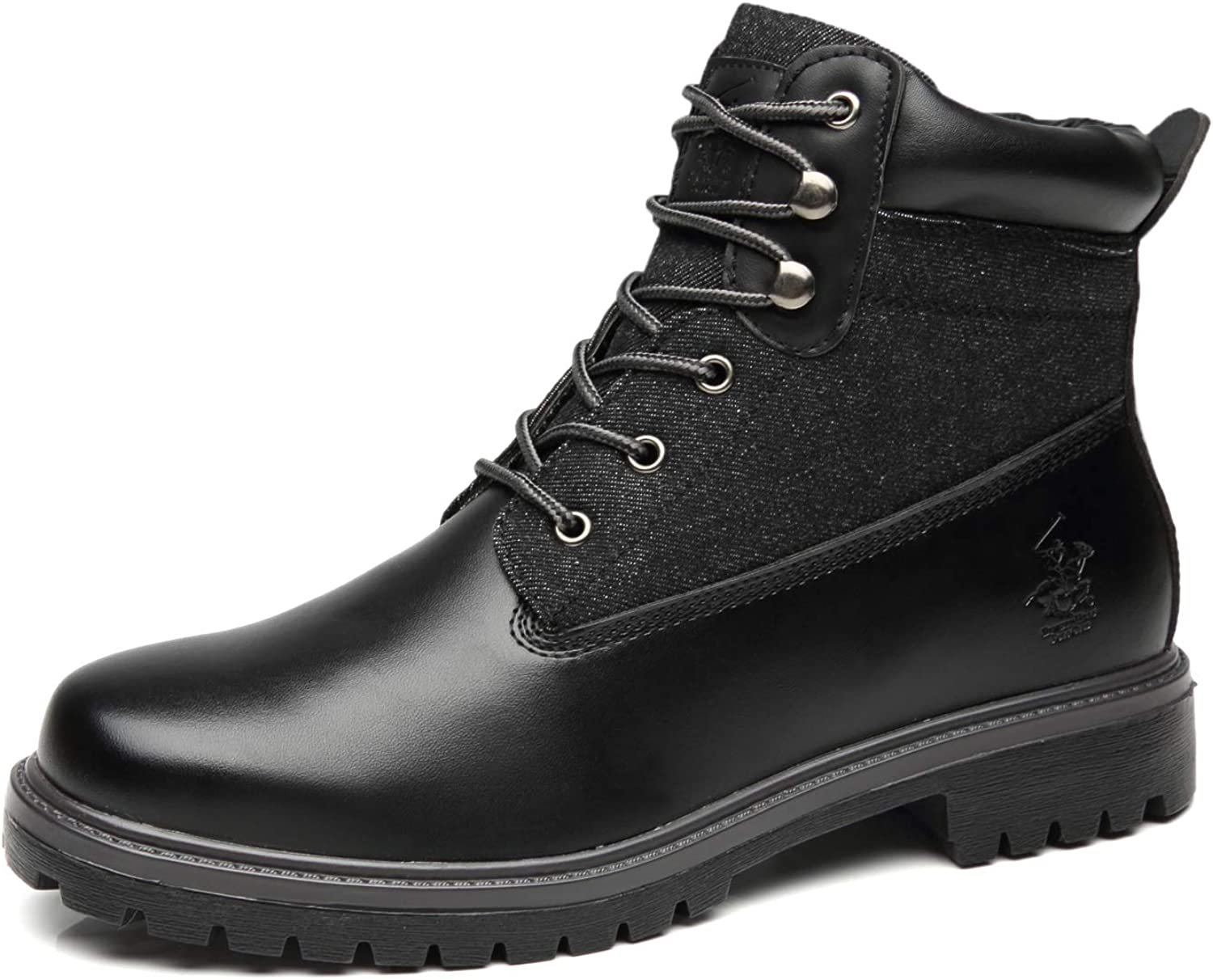 Beverly Hills Polo Club Selling rankings Men's Snow C Boots Winter Up Lace Outstanding Casual