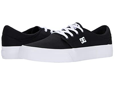DC Trase (Black/Black/White) Women