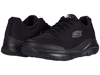 SKECHERS Arch Fit (Black/Black) Men